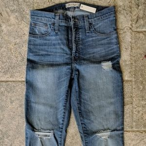 "Madewell High-Rise 9"" Skinny Jeans (Size 27) [NWT]"